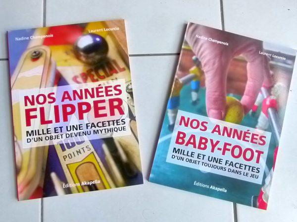 Livres Flipper et Baby-foot